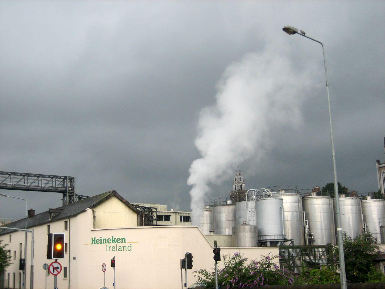 Usine Heineken à Cork