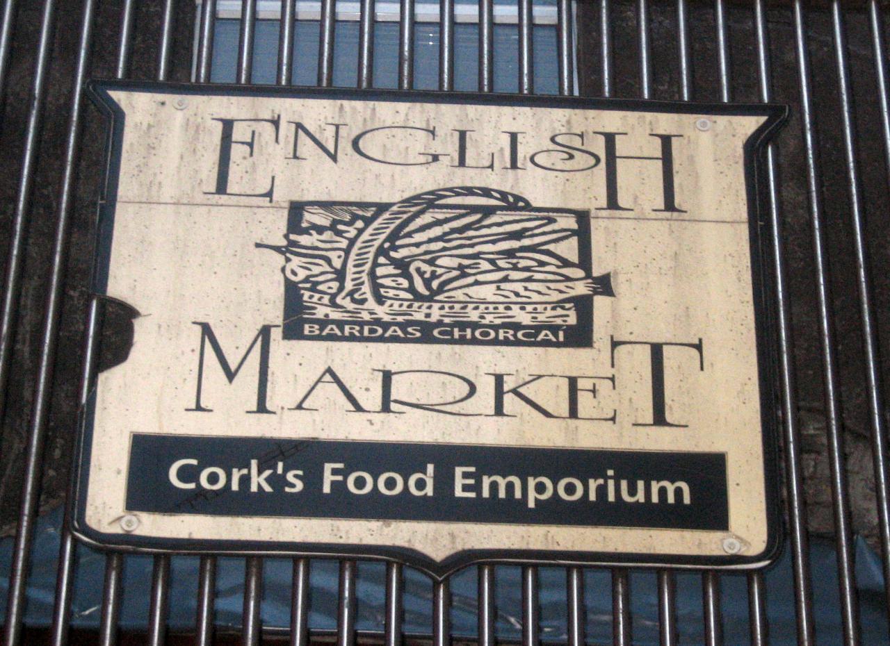 English market à Cork