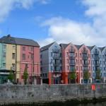 Batiments colorés Irlandais à Cork