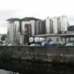 Usine fabrication de bière Irlandaise