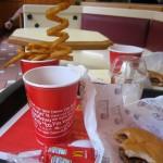 Twisty fries au Macdo en Irlande
