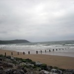 Youghal Beach en Irlande